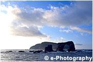 ダーウィン島とダーウィンアーチ