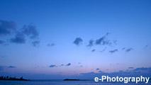 海 水平線 夕暮れ