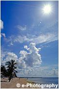 キーウェストの雲と空