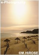 白浜のセピア風景