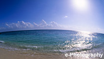 海 波 水 光 太陽
