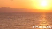 海 波 光 水平線 太陽 サンセット