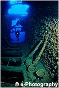 Wreck of the President Coolidge, Vanuatu (S . Pacific )