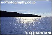 与那国 光る海