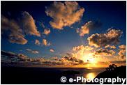 旭平から見た朝陽