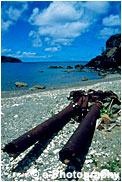 兄島滝の浦の大砲