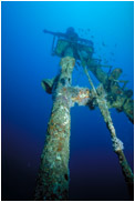 モルジブの沈船