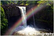 レインボー・フォール ハワイ島の滝